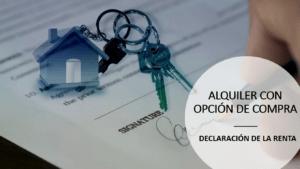 ALQUILER CON OPCION DE COMPRA