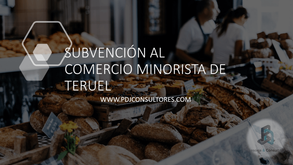 SUBVENCIÓN AL COMERCIO MINORISTA DE TERUEL